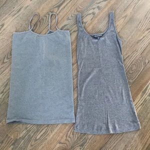 Set of 2 maternity tank tops